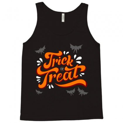 Trick Or Treat Tank Top Designed By Tudtoojung