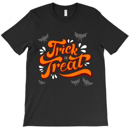 Trick Or Treat T-shirt Designed By Tudtoojung