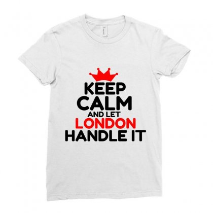 London Ladies Fitted T-shirt Designed By Perfect Designers