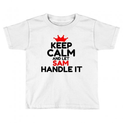 Sam Toddler T-shirt Designed By Perfect Designers