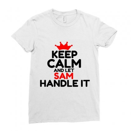 Sam Ladies Fitted T-shirt Designed By Perfect Designers
