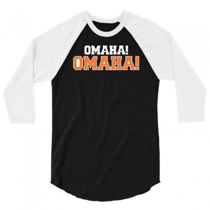 Omaha Omaha 3/4 Sleeve Shirt Designed By Riqo