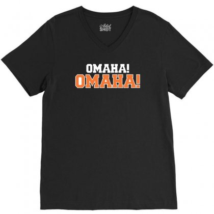 Omaha Omaha V-neck Tee Designed By Riqo