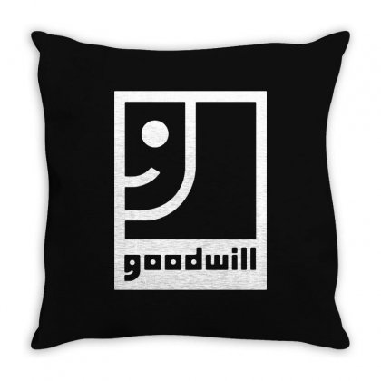 Goodwill Throw Pillow Designed By G3ry