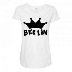 berlin Maternity Scoop Neck T-shirt | Artistshot