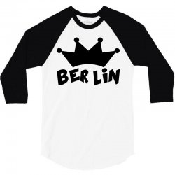 berlin 3/4 Sleeve Shirt | Artistshot