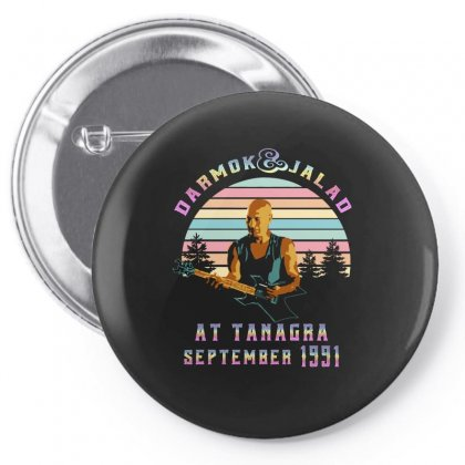 Darmok And Jalad At Tanagra September 1991 Pin-back Button Designed By Sengul