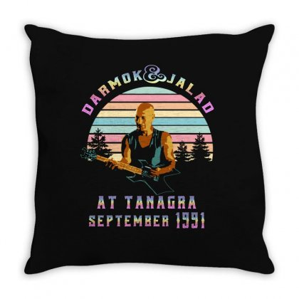 Darmok And Jalad At Tanagra September 1991 Throw Pillow Designed By Sengul