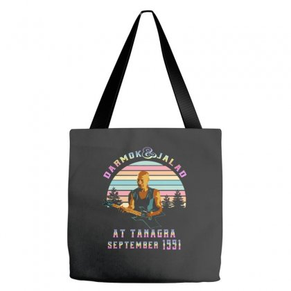Darmok And Jalad At Tanagra September 1991 Tote Bags Designed By Sengul