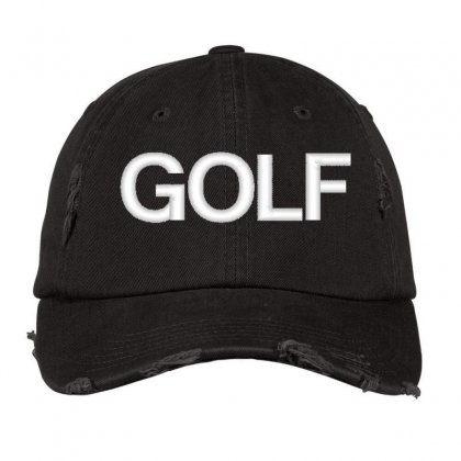 Golf Distressed Cap Designed By Madhatter