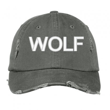 Wolf Distressed Cap Designed By Madhatter
