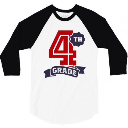 4th Grade 3/4 Sleeve Shirt Designed By Chris Ceconello