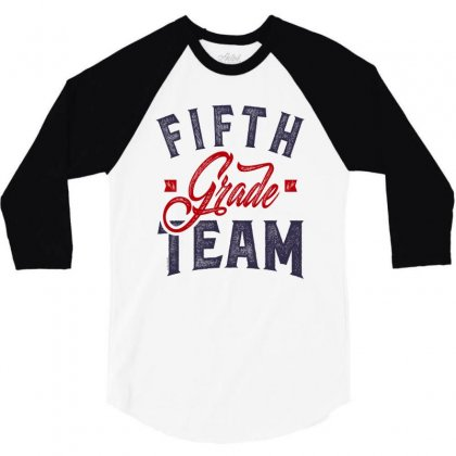 Fifth Grade Team 3/4 Sleeve Shirt Designed By Chris Ceconello