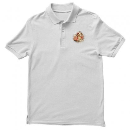 Halloween 174 Men's Polo Shirt Designed By Lotus Fashion Realm
