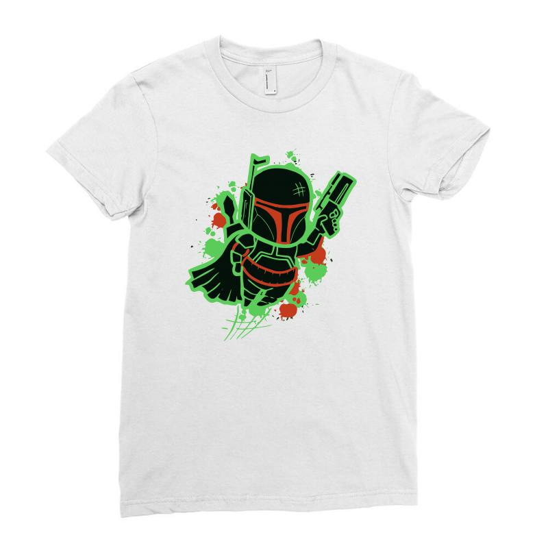 Bright Boba Ladies Fitted T-shirt | Artistshot