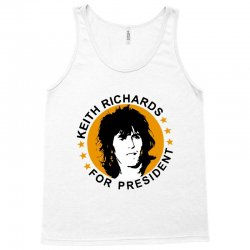 keith richards    for president Tank Top | Artistshot