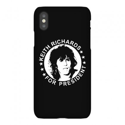 Keith Richards For President Iphonex Case Designed By Scarlettzoe