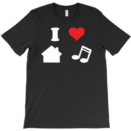 Love House Music T-shirt Designed By G3ry