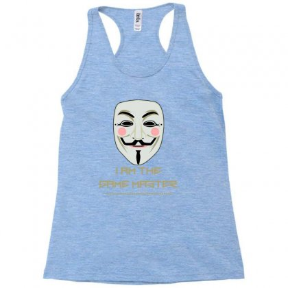 Anonymous Mask Project Zorgo Game Master Racerback Tank Designed By Lotus Fashion Realm