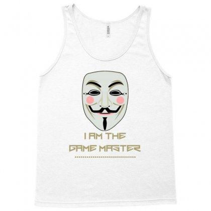 Anonymous Mask Project Zorgo Game Master Tank Top Designed By Lotus Fashion Realm