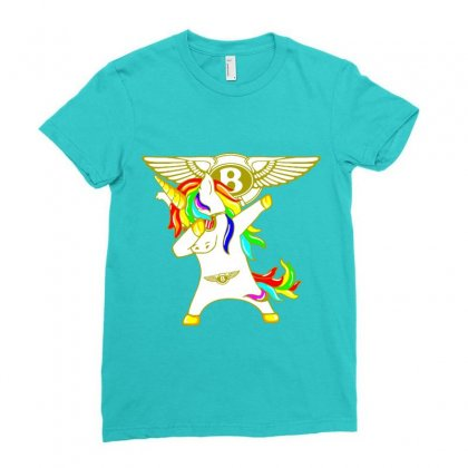 Bentley Unicorn Dabbing Shirts T Shirt Gildan Mens T Shirt Red S 4 102 Ladies Fitted T-shirt Designed By Lotus Fashion Realm