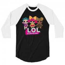 lol surprise 3/4 Sleeve Shirt | Artistshot