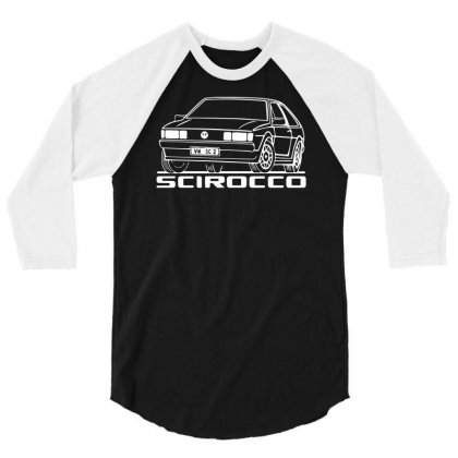 Scirocco 3/4 Sleeve Shirt Designed By Riqo
