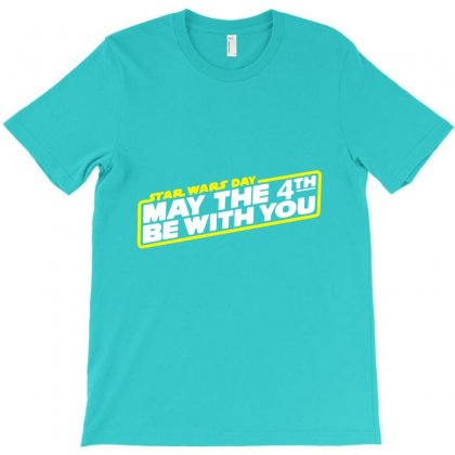 Star Wars Day May The 4th Be With You T-shirt Designed By Lotus Fashion Realm