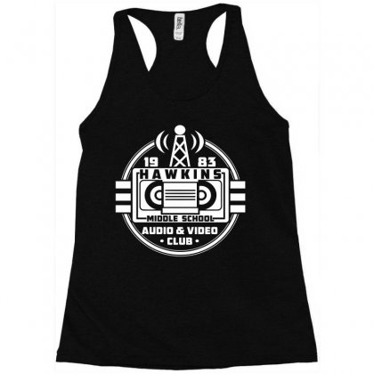 Audio Video Club Racerback Tank Designed By Viral Style