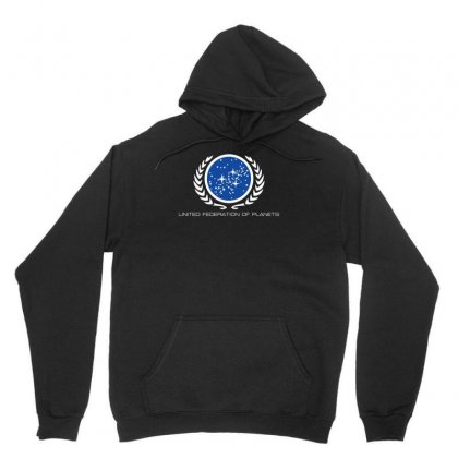Star Trek United Federation Of Planets Logo Unisex Hoodie Designed By Fanshirt