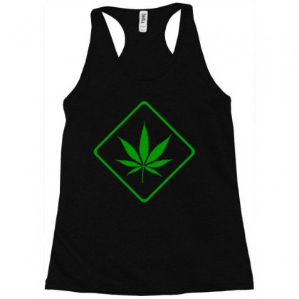 Cannabis Area (green) Racerback Tank Designed By Bpn Inside