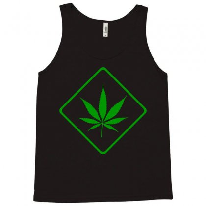 Cannabis Area (green) Tank Top Designed By Bpn Inside