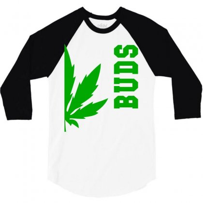 Buds Best Buds Matching Couples 3/4 Sleeve Shirt Designed By Bpn Inside