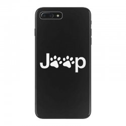 funny white jeep paw prints dogs iPhone 7 Plus Case | Artistshot