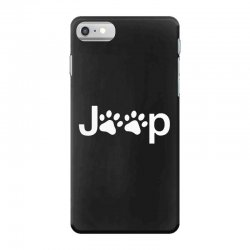 funny white jeep paw prints dogs iPhone 7 Case | Artistshot
