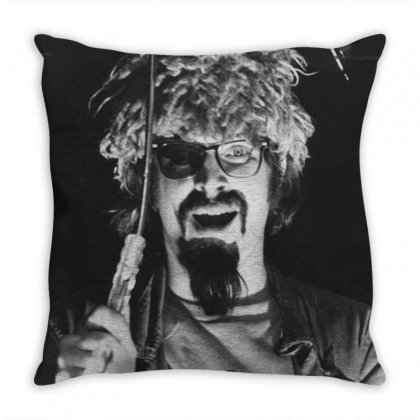 The Ghoul Channel 61 Throw Pillow Designed By Kartikasari