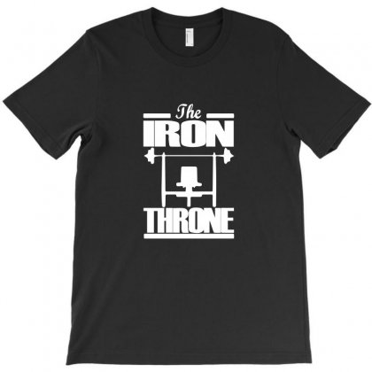 The Iron Throne T-shirt Designed By Funtee