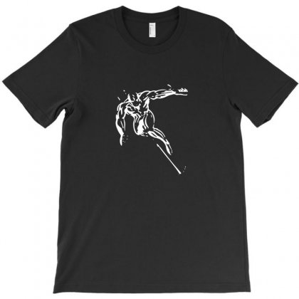 The Silver Surfer T-shirt Designed By Funtee