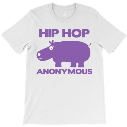 Hip Hop Anonymous T-shirt Designed By Allentees