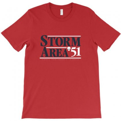 Storm Area T-shirt Designed By Teesclouds