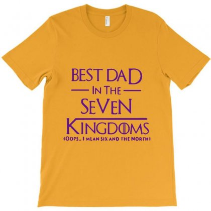 Best Dad In The Seven Kingdoms T-shirt Designed By Lotus Fashion Realm