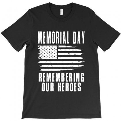 Memorial Day T-shirt Designed By Lawrensia