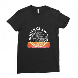 white claw beer Ladies Fitted T-Shirt | Artistshot