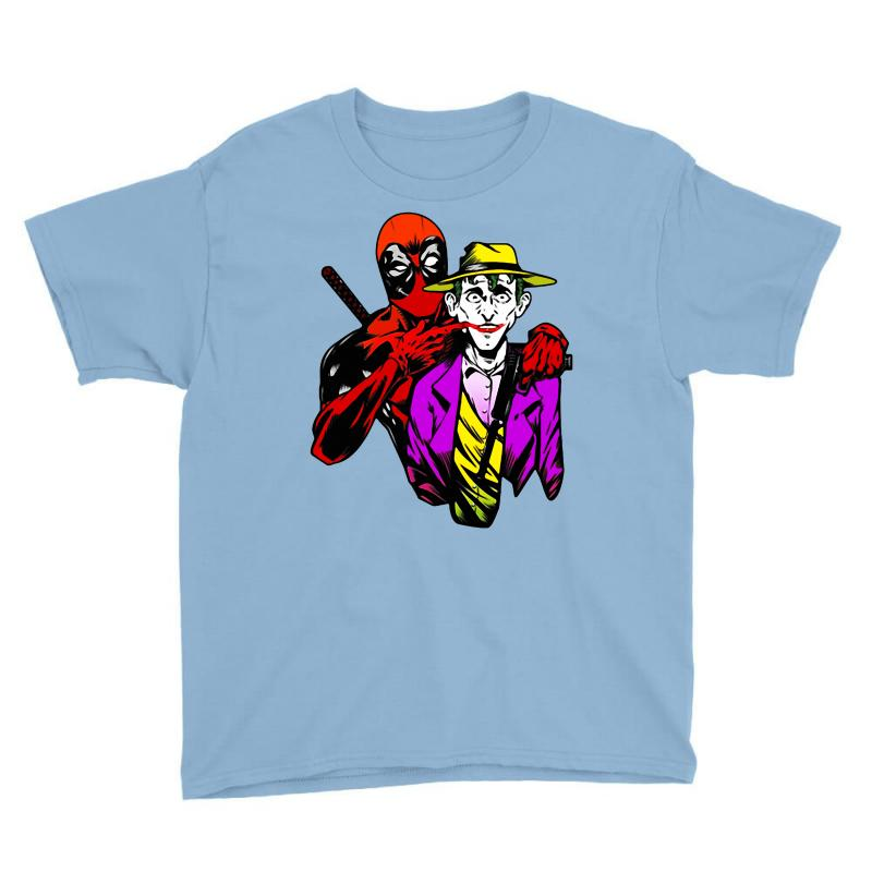 Comic Con   Out Crazing Crazy Deadpool Joker Comic Con Youth Tee | Artistshot