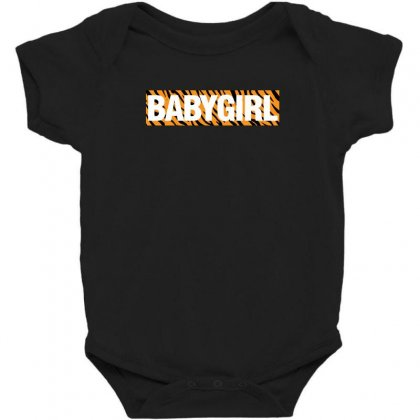 Baby Girl Tiger Stripes Baby Bodysuit