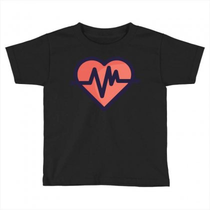 Cardiogram Toddler T-shirt Designed By Akhtar21