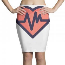cardiogram Pencil Skirts | Artistshot