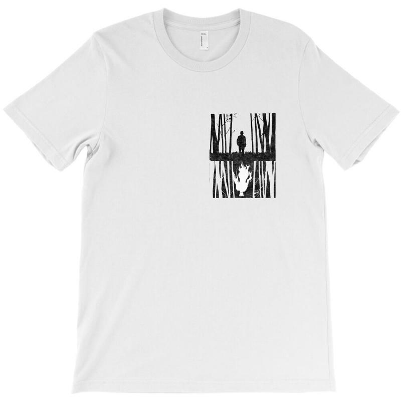 Monsters Wood T-shirt | Artistshot