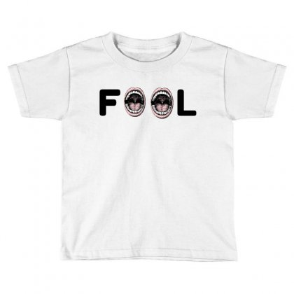 Fool Toddler T-shirt Designed By Perfect Designers