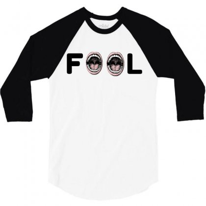 Fool 3/4 Sleeve Shirt Designed By Perfect Designers